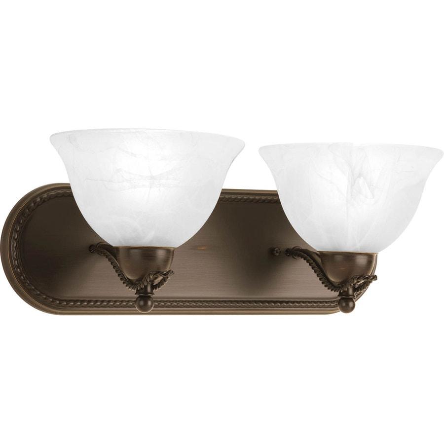Progress Lighting Avalon 2-Light Antique Bronze Bowl Vanity Light