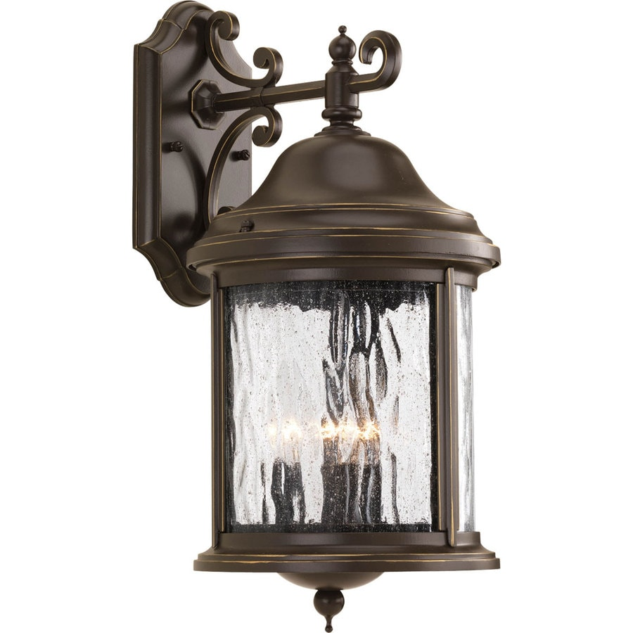 Progress Lighting Ashmore 17.25-in H Antique Bronze Outdoor Wall Light