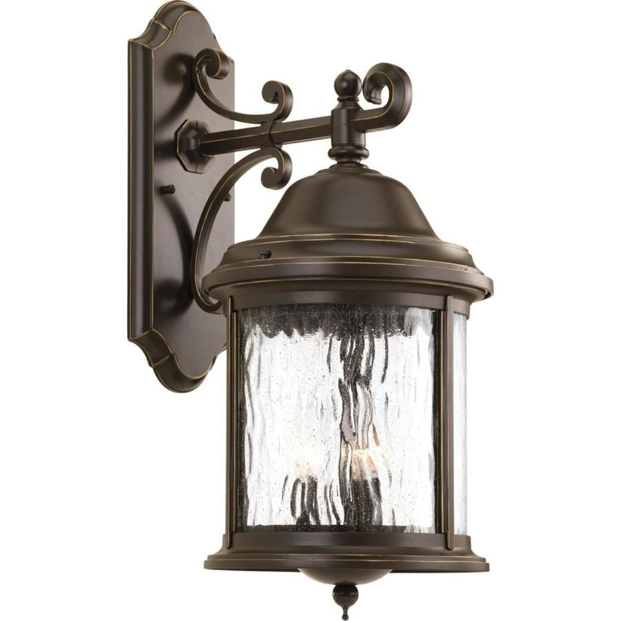 Progress Lighting Ashmore 20.5-in H Antique Bronze Outdoor Wall Light