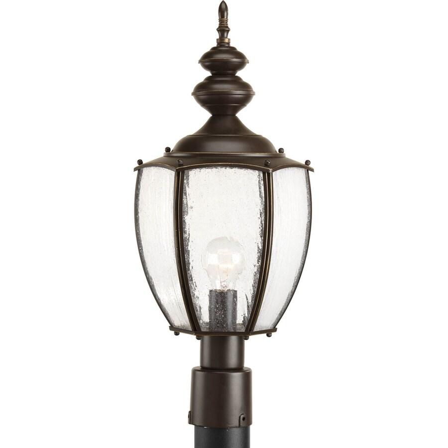 Progress Lighting Roman Coach 22.62-in H Antique Bronze Post Light