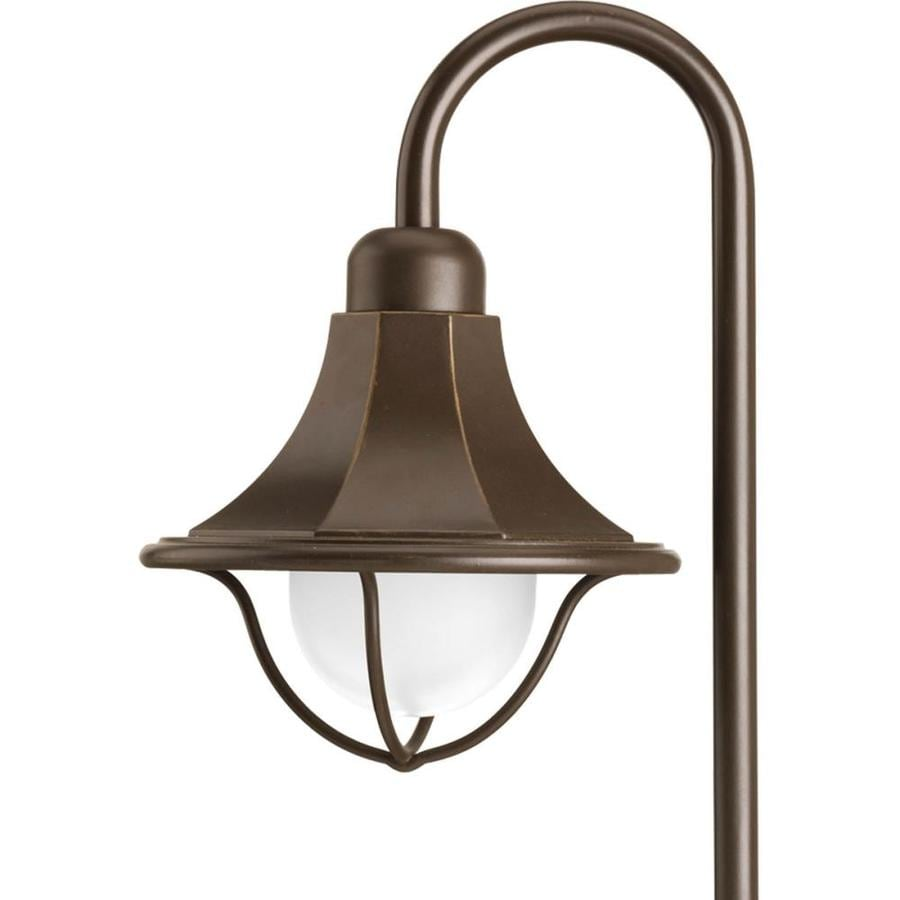 Progress Lighting 18-Watt Antique Bronze Low Voltage Plug-In Incandescent Path Light