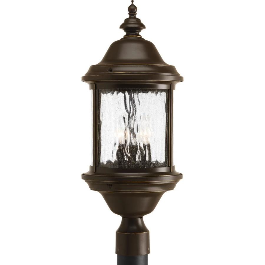Progress Lighting Ashmore 24-in H Antique Bronze Post Light