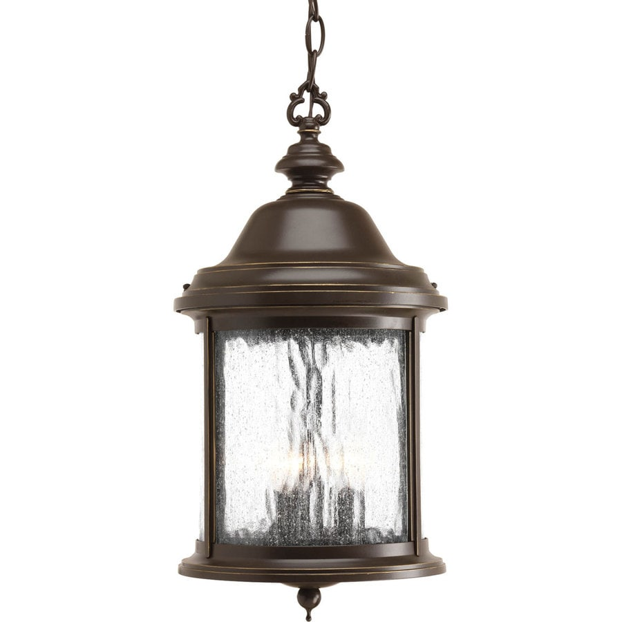Antique Outdoor Pendant Lighting : Progress lighting ashmore in antique bronze