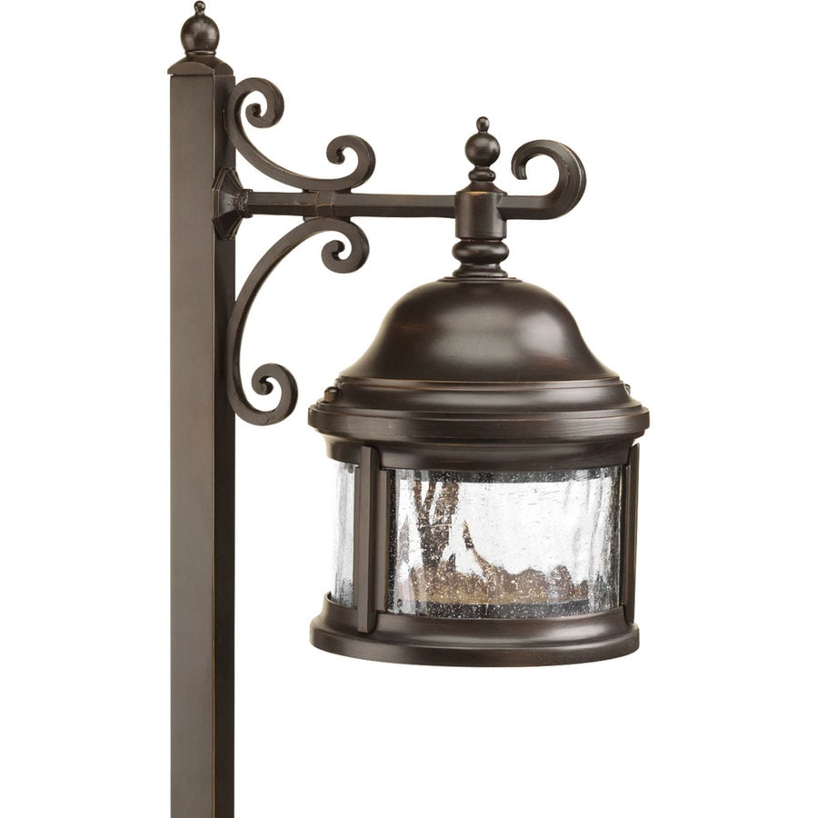 Progress Lighting Ashmore 18-Watt Antique Bronze Low Voltage Plug-In Incandescent Path Light