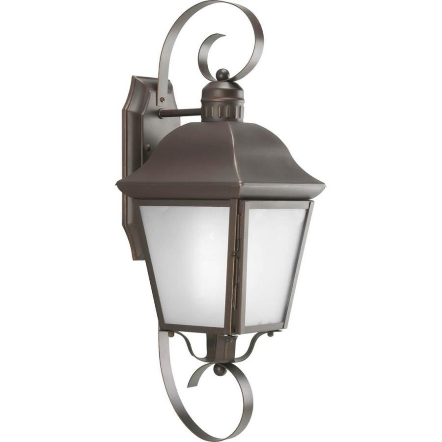 Progress Lighting Andover 21.37-in H Antique Bronze Outdoor Wall Light