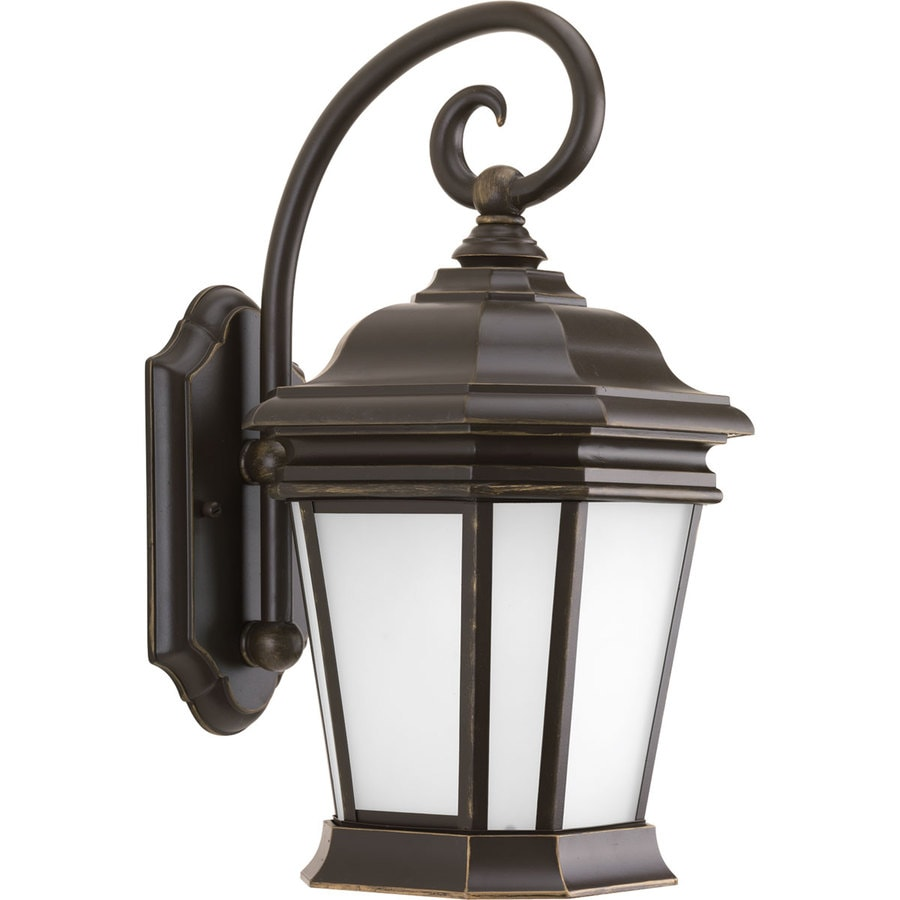 Progress Lighting Crawford 16.75-in H Oil Rubbed Bronze Outdoor Wall Light