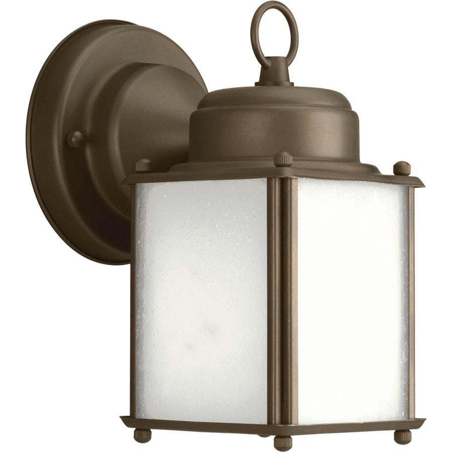 Progress Lighting Roman Coach 8.5-in H Antique Bronze Outdoor Wall Light