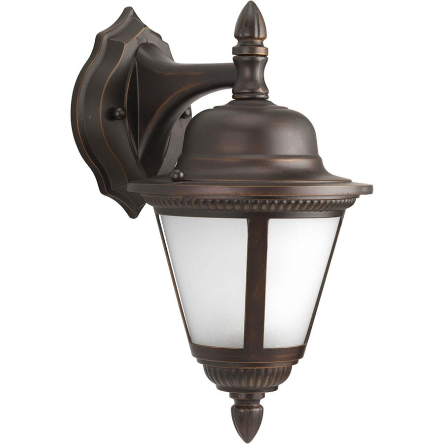 Progress Lighting Westport 12.75-in H Antique Bronze Outdoor Wall Light ENERGY STAR