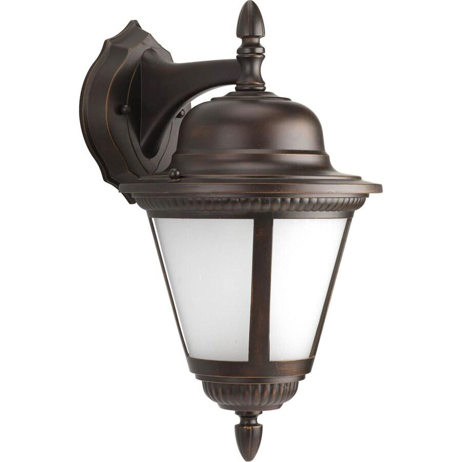 Progress Lighting Westport 16-in H Antique Bronze Outdoor Wall Light ENERGY STAR