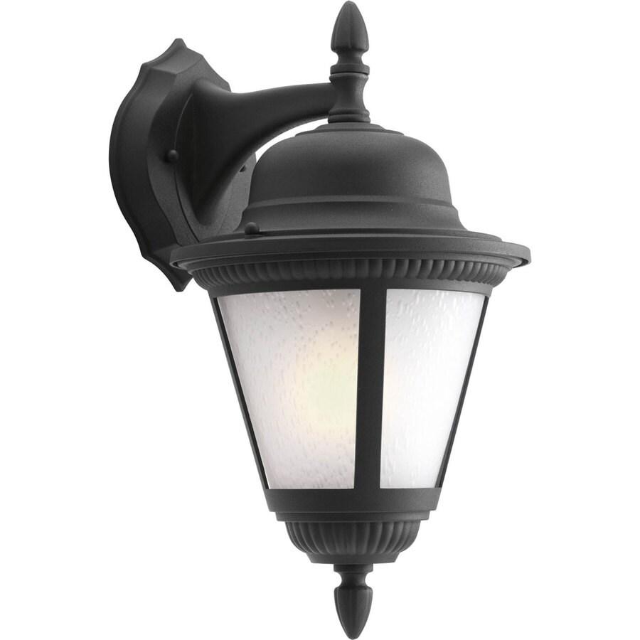 Progress Lighting Westport 15.81-in H Black Outdoor Wall Light ENERGY STAR