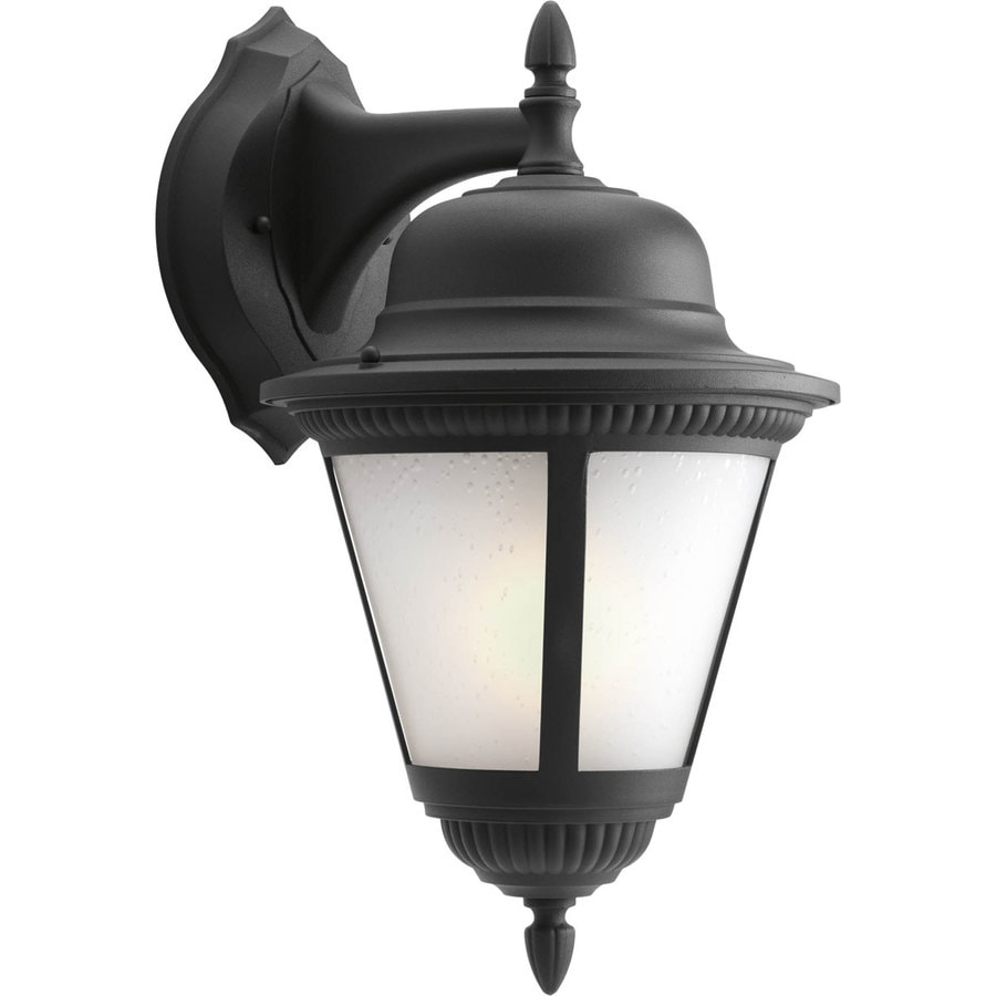 Progress Lighting Westport 19.5-in H Black Outdoor Wall Light ENERGY STAR