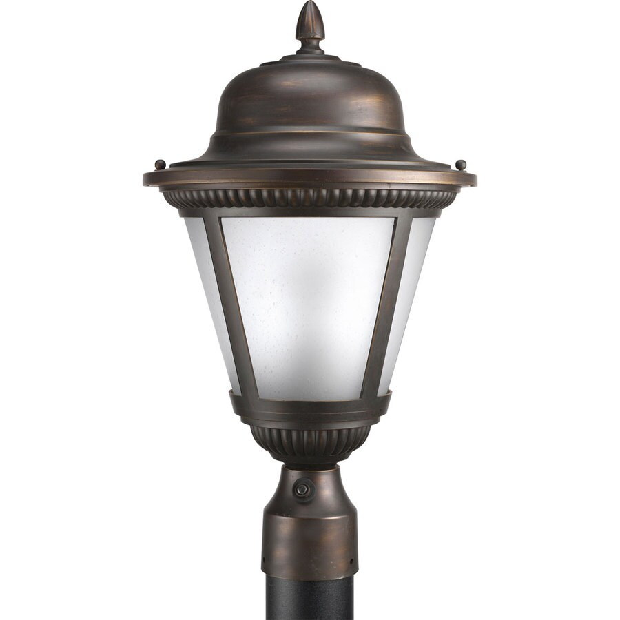 Progress Lighting Westport 19-in H Antique Bronze Post Light