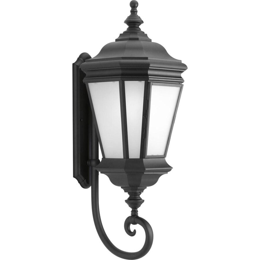 Progress Lighting Crawford 32.81-in H Black Outdoor Wall Light