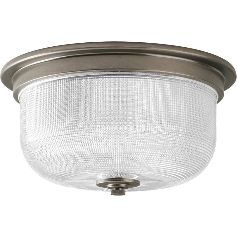 Progress Lighting Archie Collection 2 Light Antique Nickel: Progress Lighting Archie 12.313-in Antique Nickel