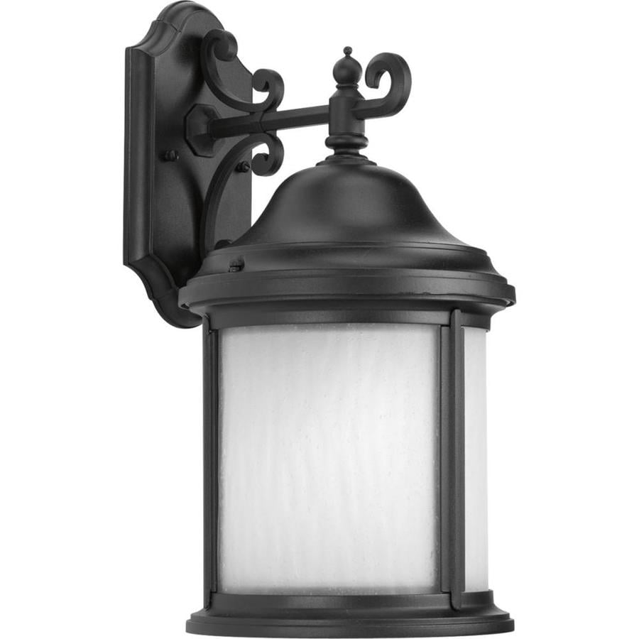 Progress Lighting Ashmore 17-in H Black Outdoor Wall Light ENERGY STAR