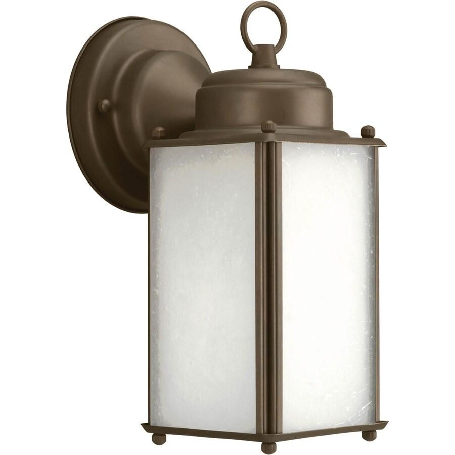 Progress Lighting Roman Coach 10-in H Antique Bronze Outdoor Wall Light ENERGY STAR