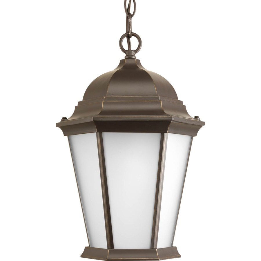 Antique Outdoor Pendant Lighting : Progress lighting welbourne in antique bronze