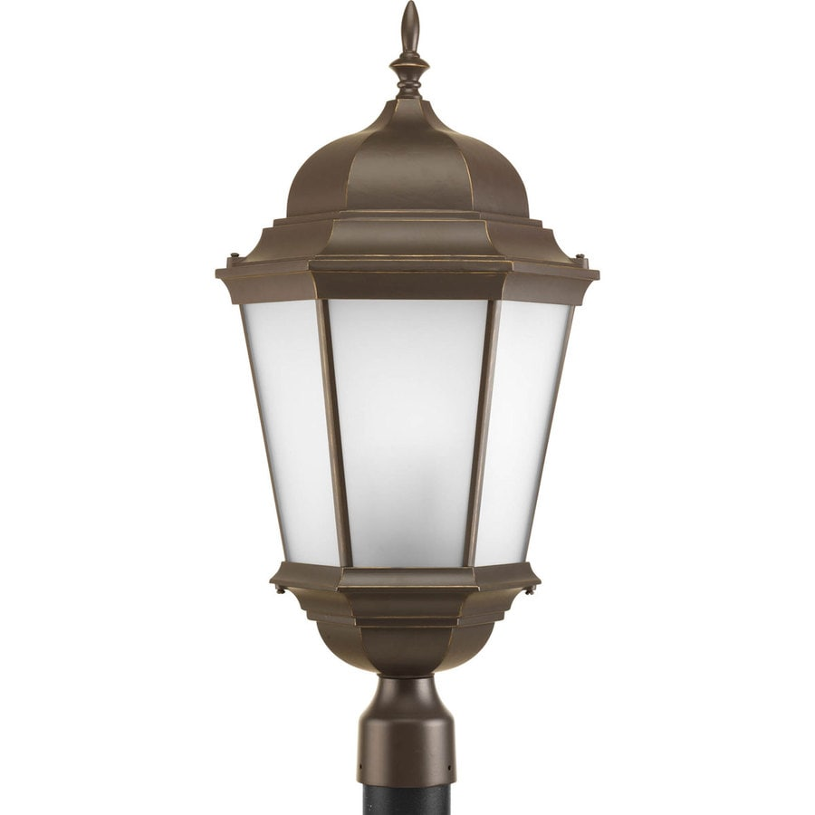 Progress Lighting Welbourne 26-in H Antique Bronze Post Light