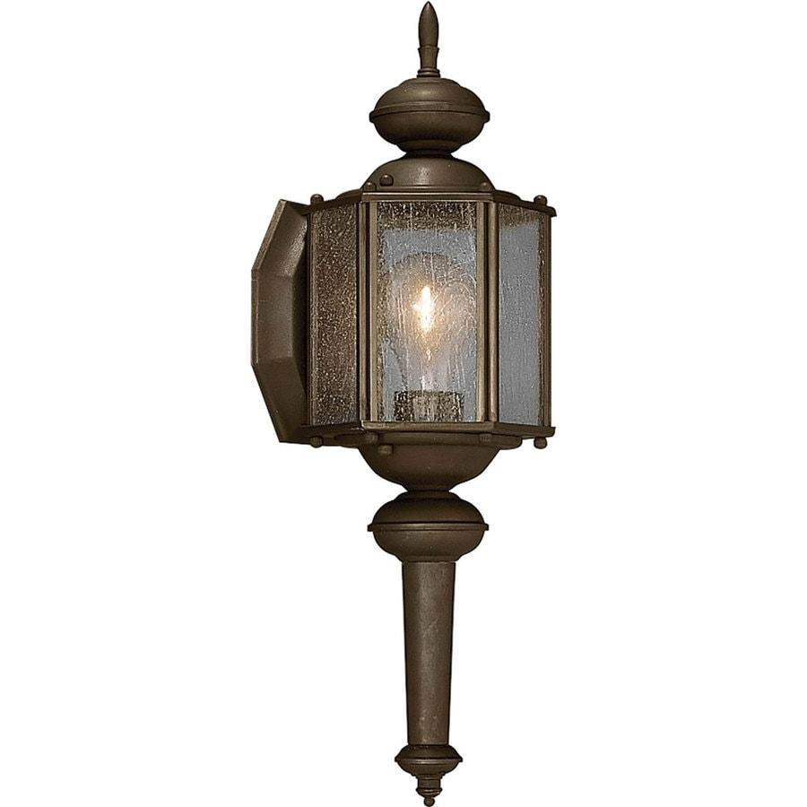 Progress Lighting Roman Coach 13.5-in H Antique Bronze Outdoor Wall Light
