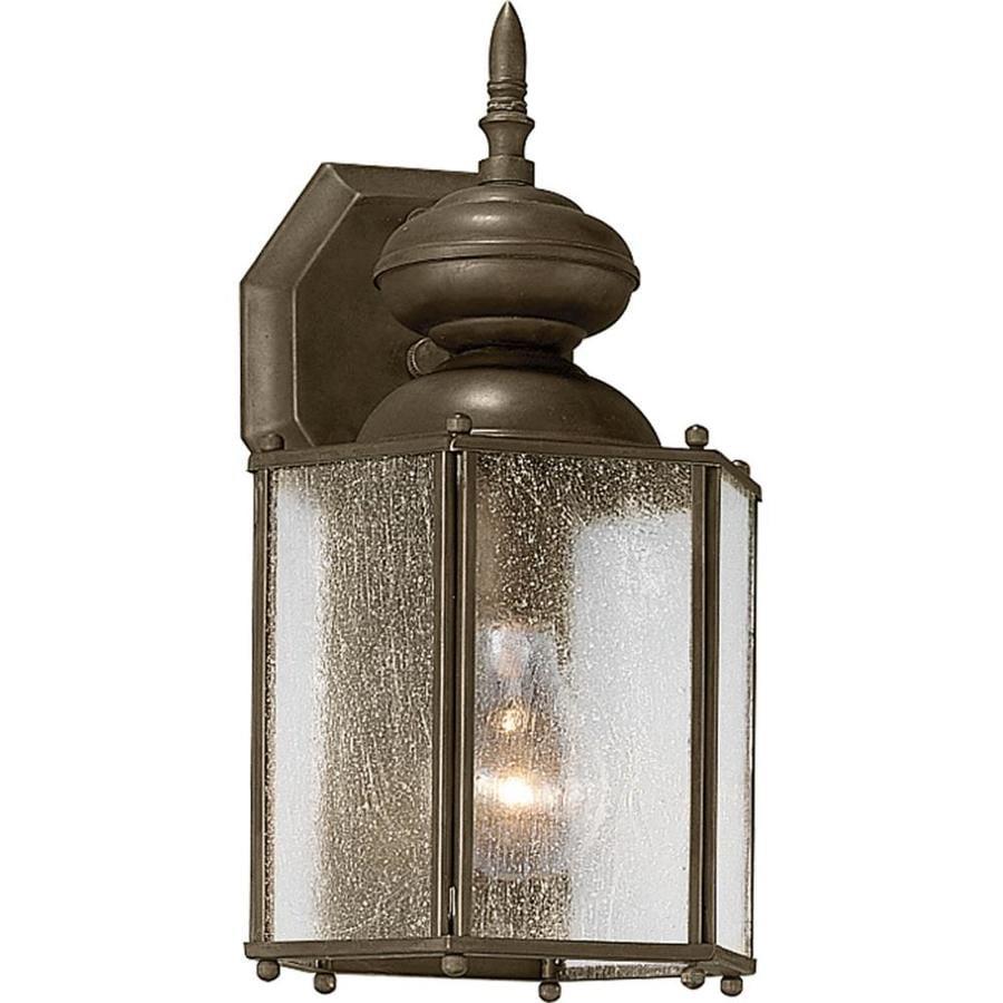 Shop Progress Lighting Roman Coach 12.5-in H Antique Bronze Outdoor ...