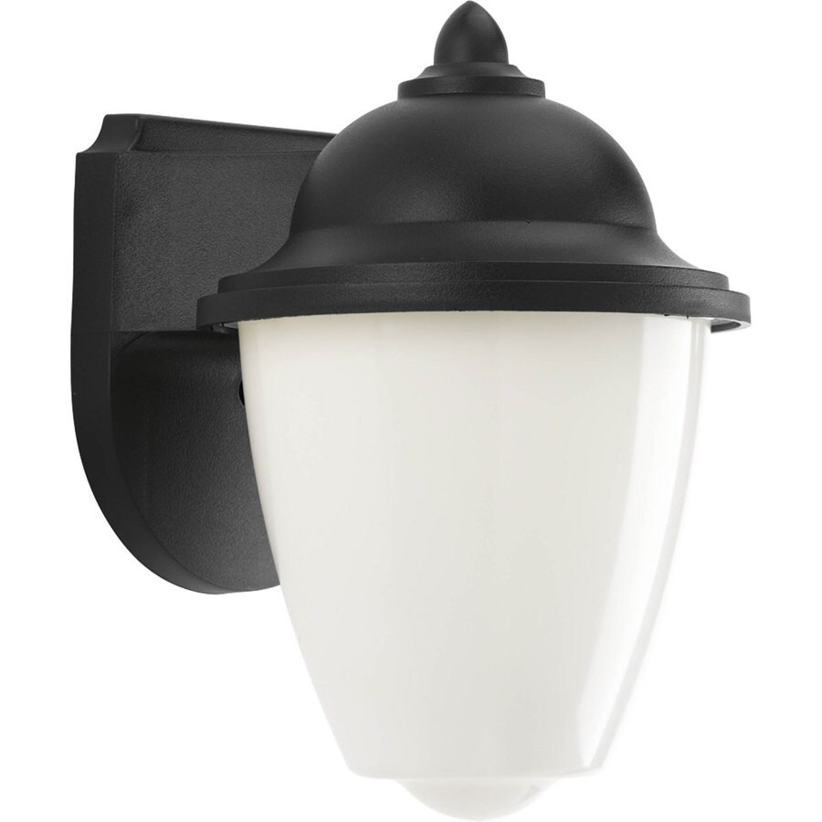 Progress Lighting Progress LED 8.87-in H Black LED Outdoor Wall Light
