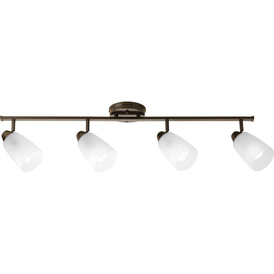 Progress Lighting Wisten 4-Light 40-in Antique Bronze Fixed Track Light Kit