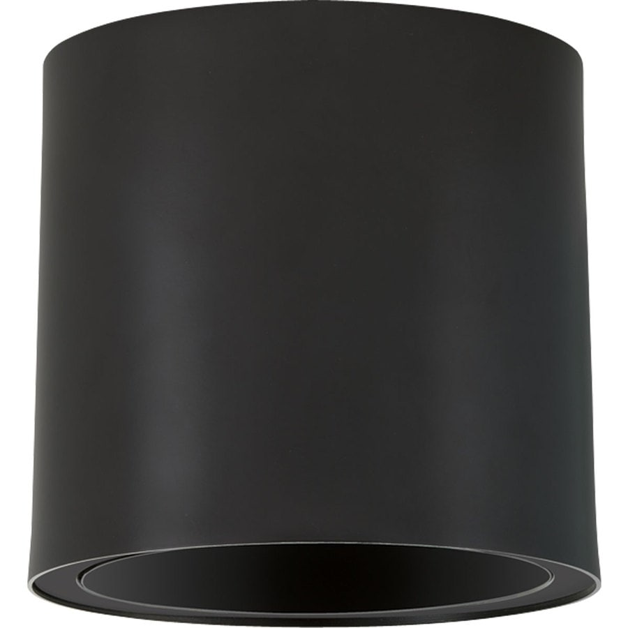 Progress Lighting 7.37-in H Led Black Outdoor Wall Light