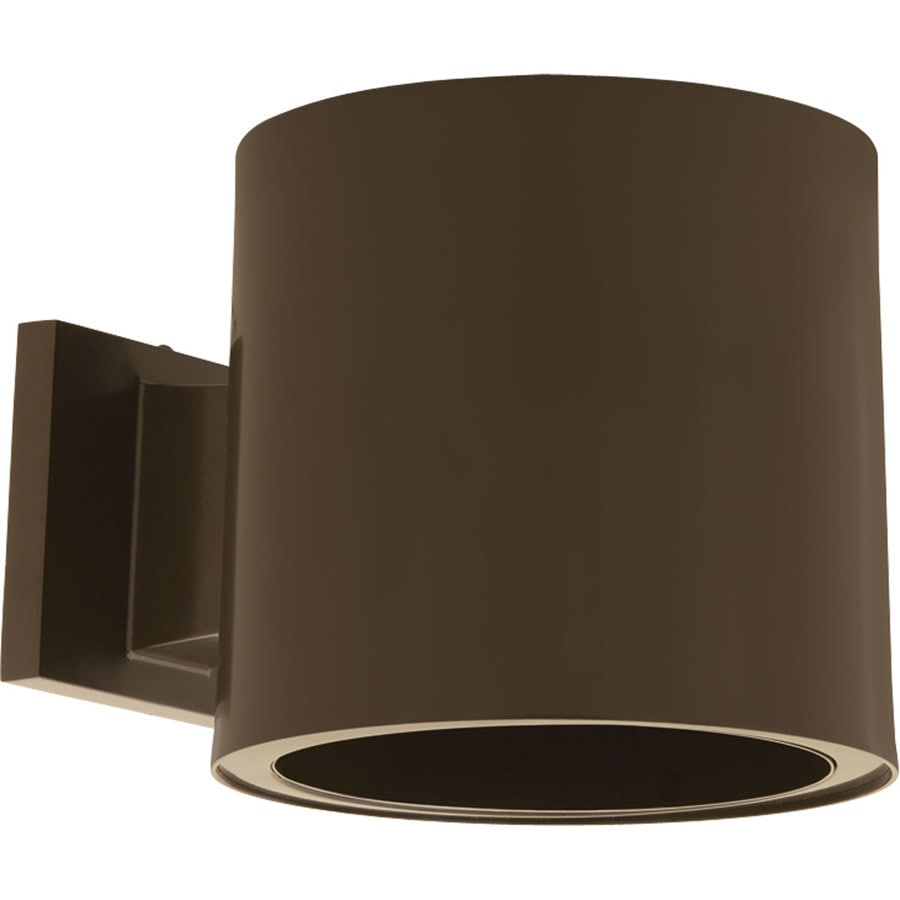 Shop Progress Lighting 7.37-in H Antique Bronze LED Outdoor Wall Light at Lowes.com