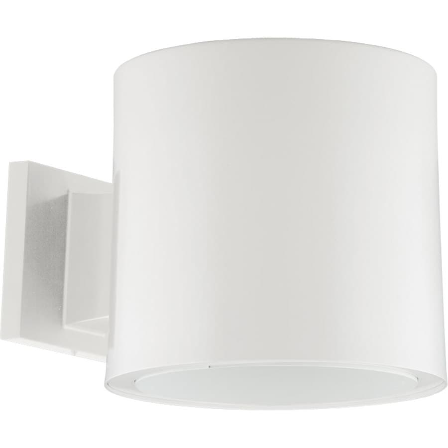 Progress Lighting 7.37-in H White LED Outdoor Wall Light
