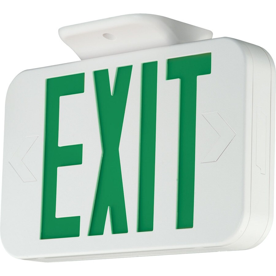 Progress Lighting Green LED Exit Light