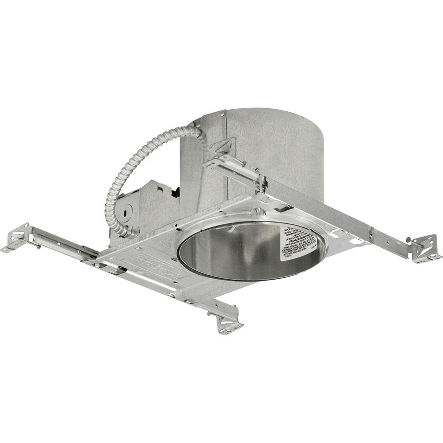 Progress Lighting New Construction IC Shallow Recessed Light Housing (Common: 6-in; Actual: 6-in)