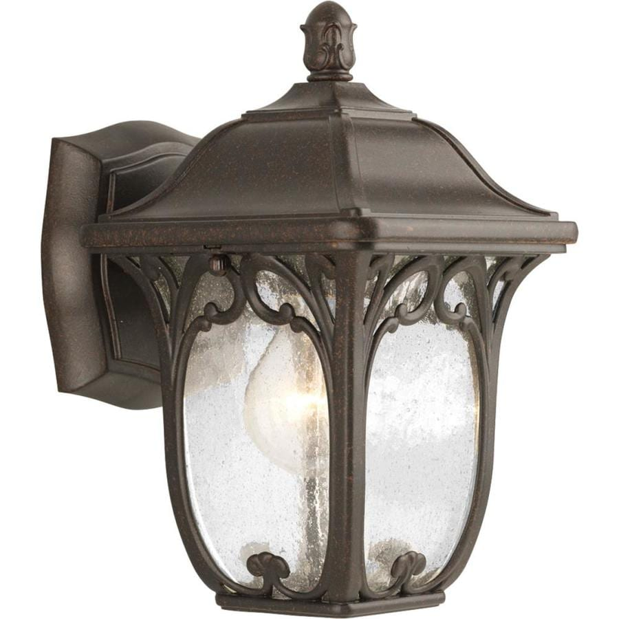 Progress Lighting Enchant 10-in H Espresso Outdoor Wall Light