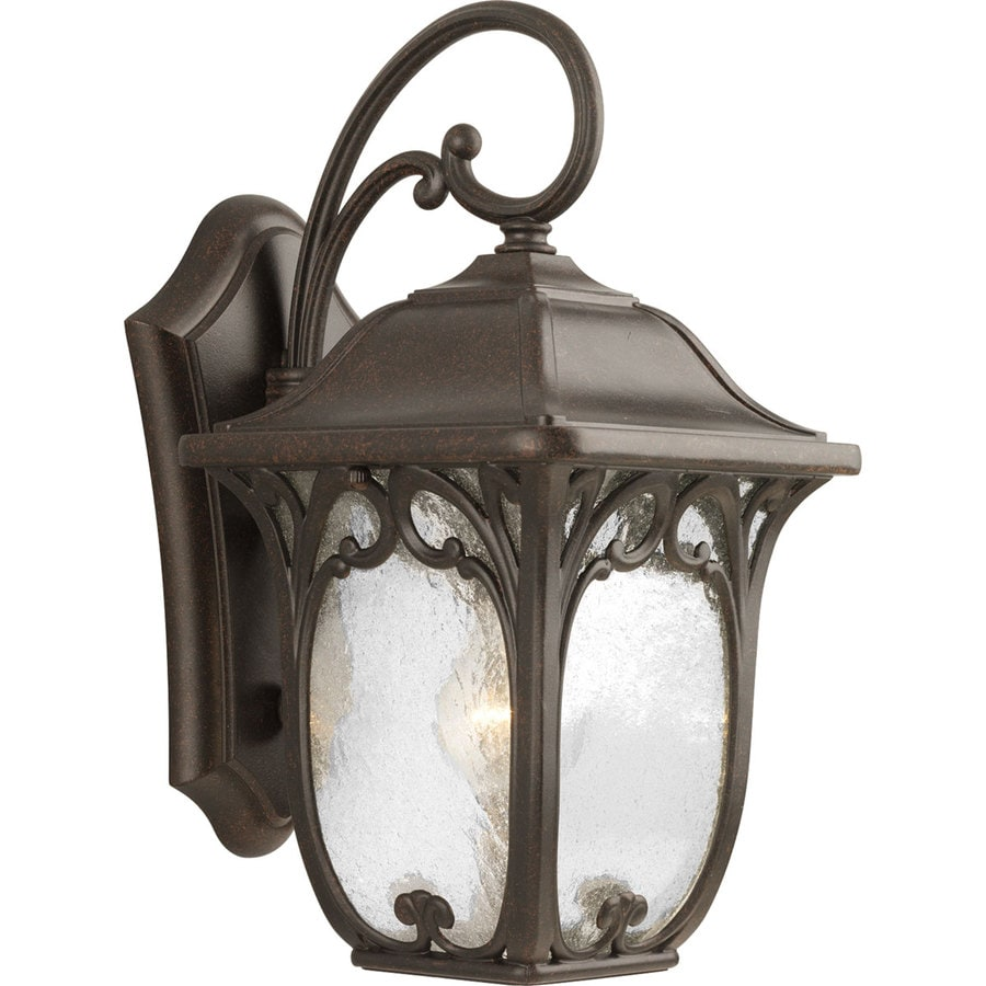 Progress Lighting Enchant 15.12-in H Espresso Outdoor Wall Light
