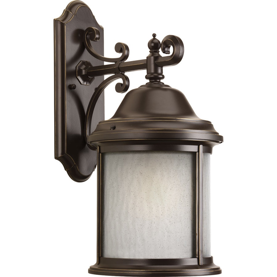 Progress Lighting Ashmore 20.5-in H Antique Bronze Outdoor Wall Light ENERGY STAR