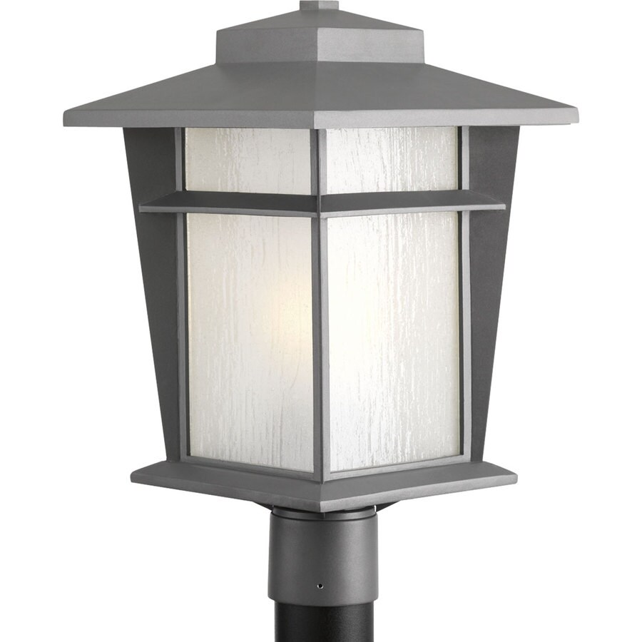 Progress Lighting Loyal 17.875-in H Textured Graphite Post Light