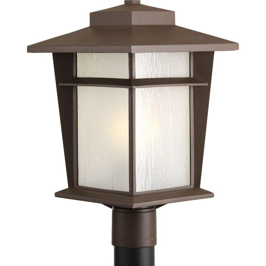 Progress Lighting Loyal 17.875-in H Antique Bronze Post Light