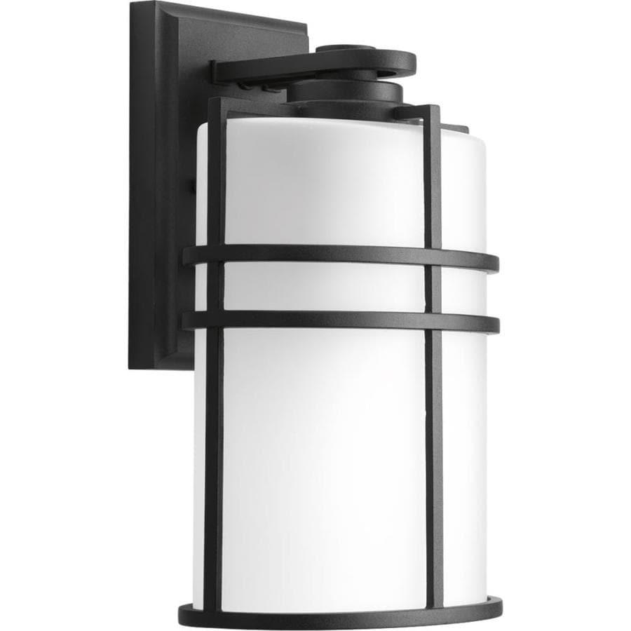 Progress Lighting Format 11.625-in H Black Outdoor Wall Light