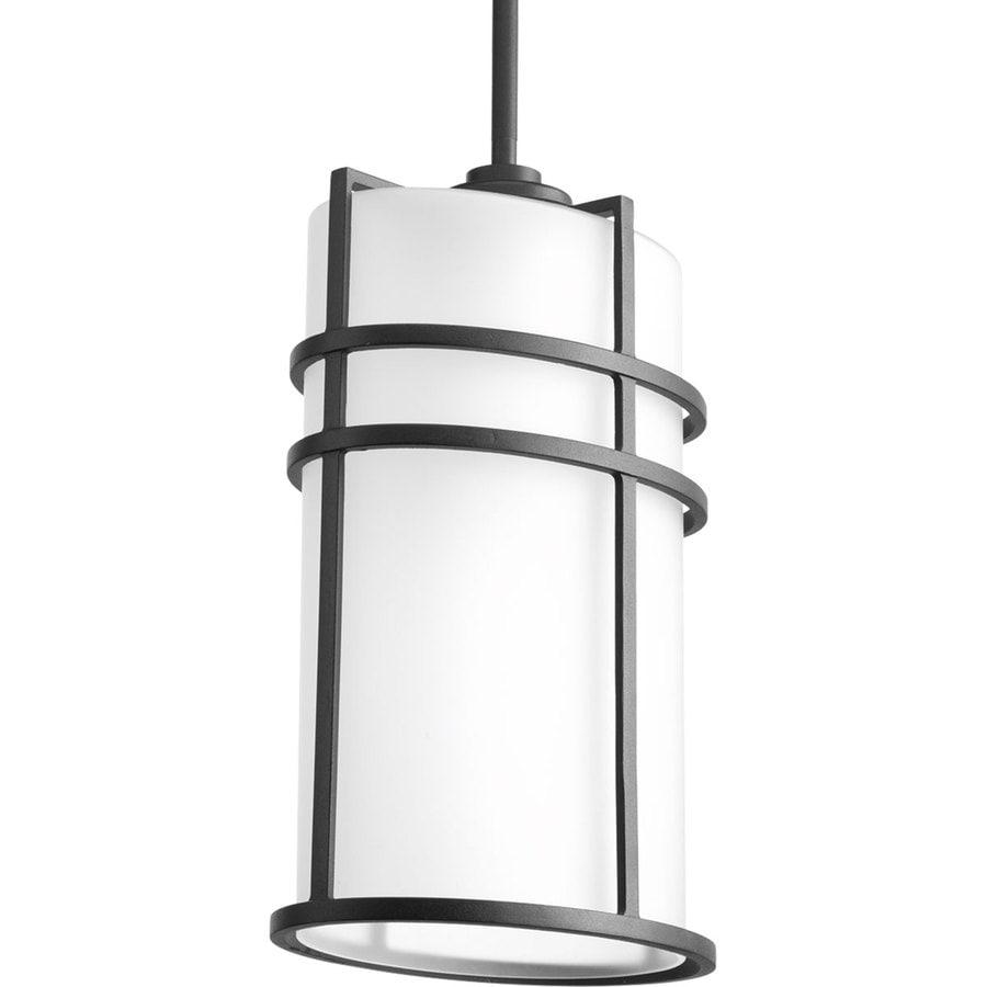 Progress Lighting Format 14.75-in Black Outdoor Pendant Light