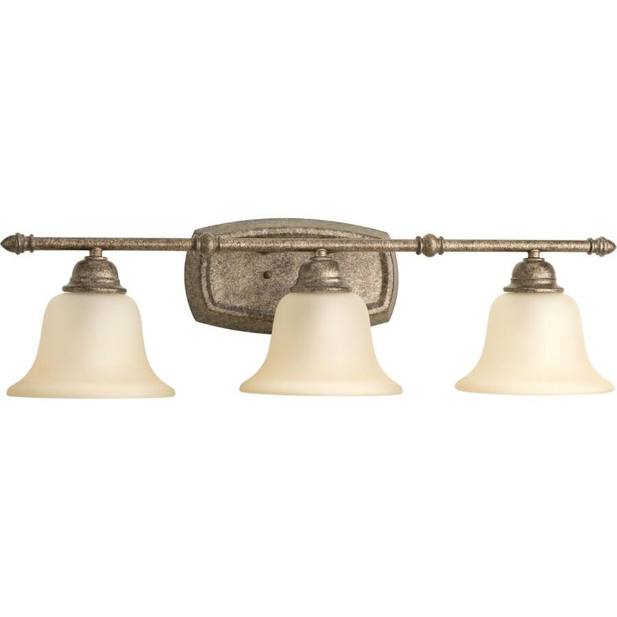 Progress Lighting Spirit 3-Light Pebbles Bell Vanity Light