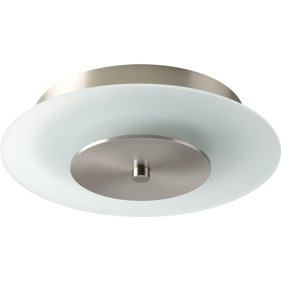 Progress Lighting Beyond 10-in W Brushed Nickel LED Flush Mount Light