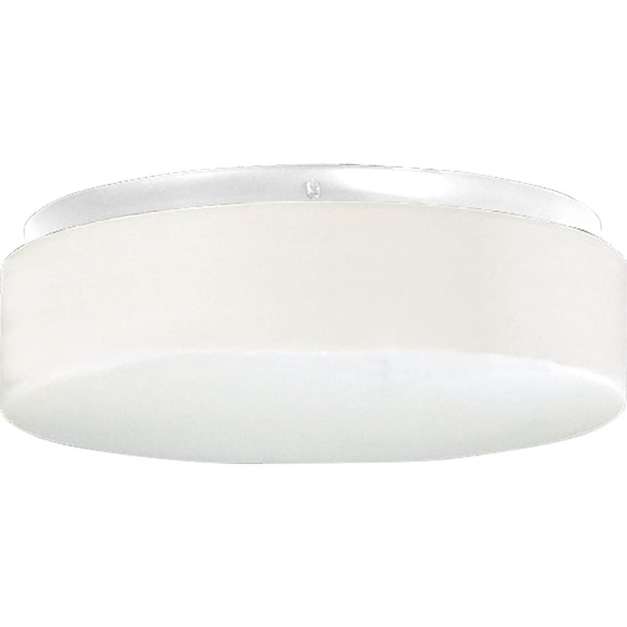 Progress Lighting Hard-Nox 11-in W White LED Flush Mount Light