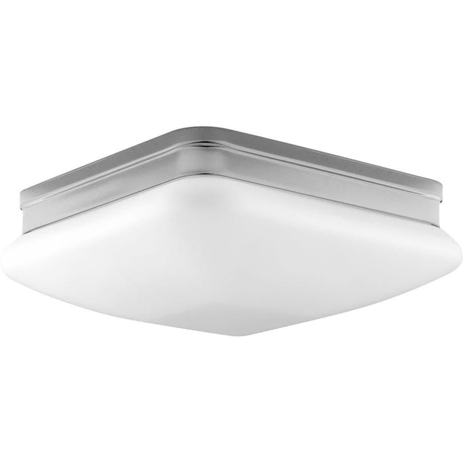 Progress Lighting Appeal 11-in W Polished Chrome Standard Flush Mount Light