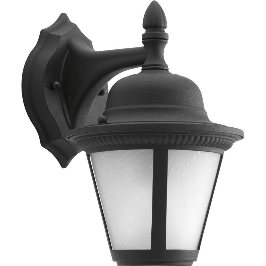 Progress Lighting Westport Led 10 25 In H Black Outdoor