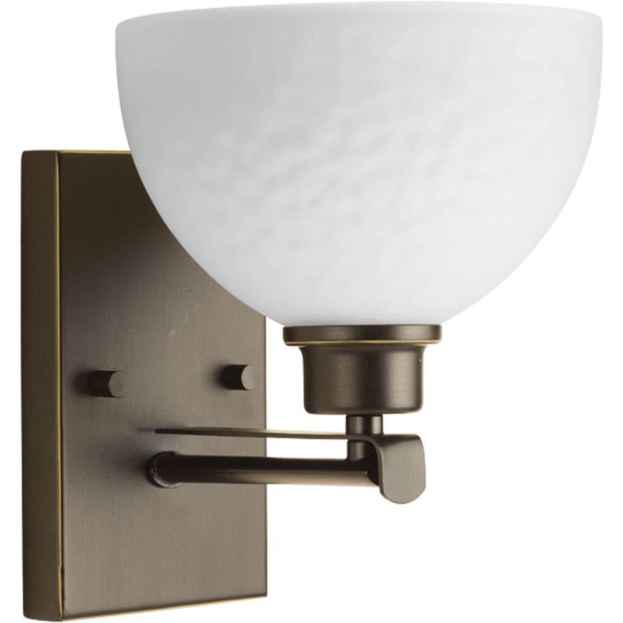 Progress Lighting Legend 1-Light 8.75-in Antique bronze Bowl Vanity Light