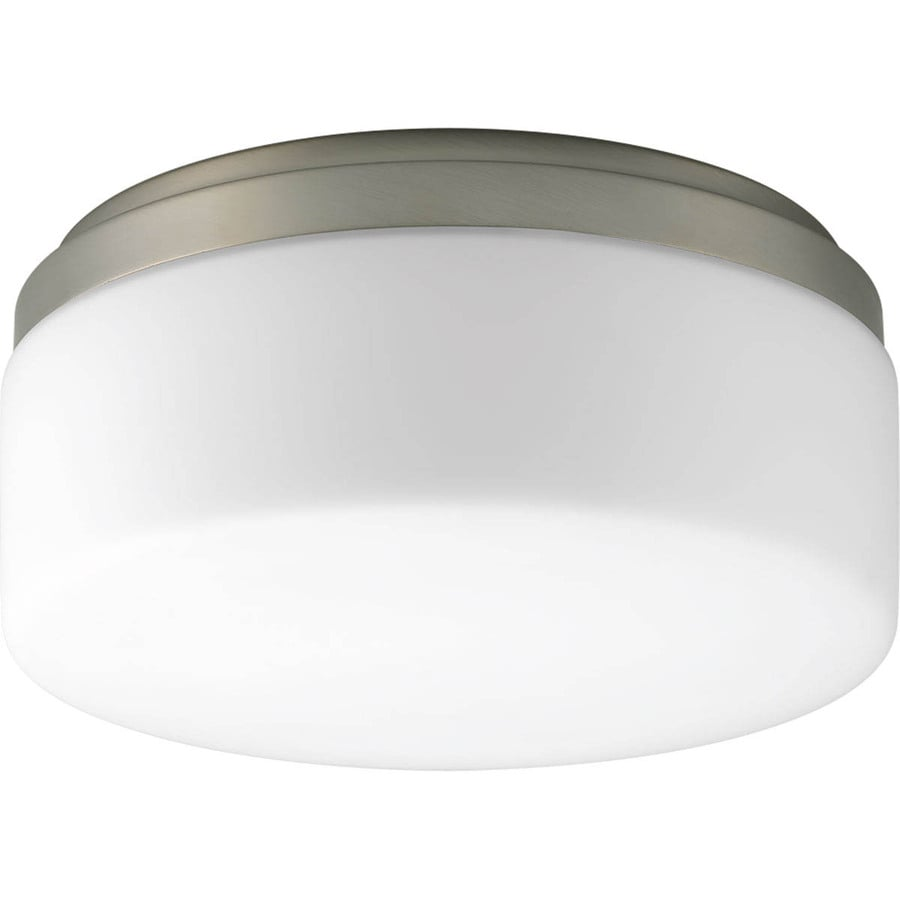 Progress Lighting Maier Led 9-in W Brushed Nickel Integrated Flush Mount Light