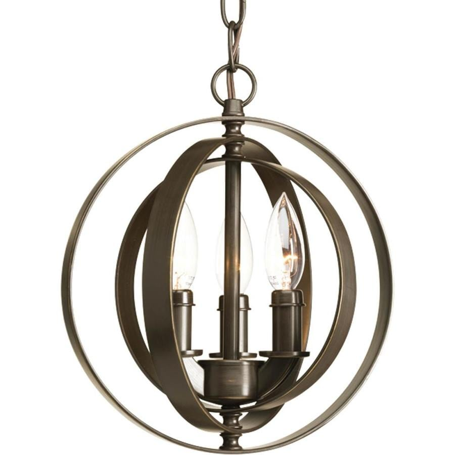 Vintage Foyer Lighting : Shop progress lighting equinox in antique bronze