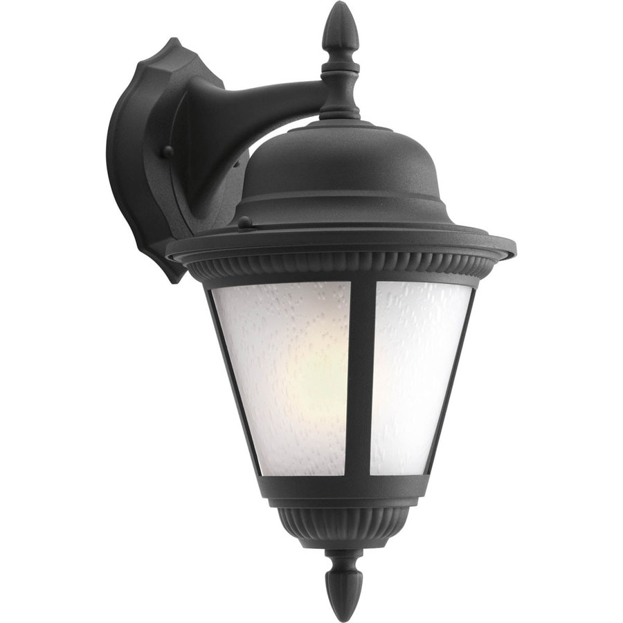 Progress Lighting Westport 15.8125-in H Textured Black LED Outdoor Wall Light