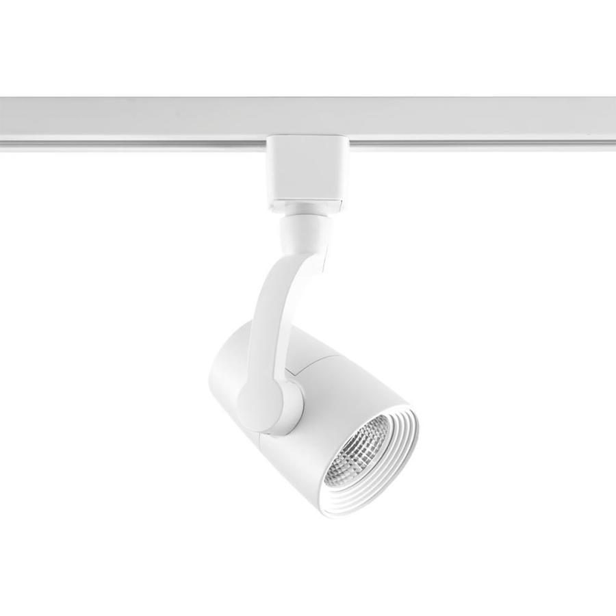 Flexible Track Lighting Led: Progress Lighting LED Track 1-Light Dimmable Bright White