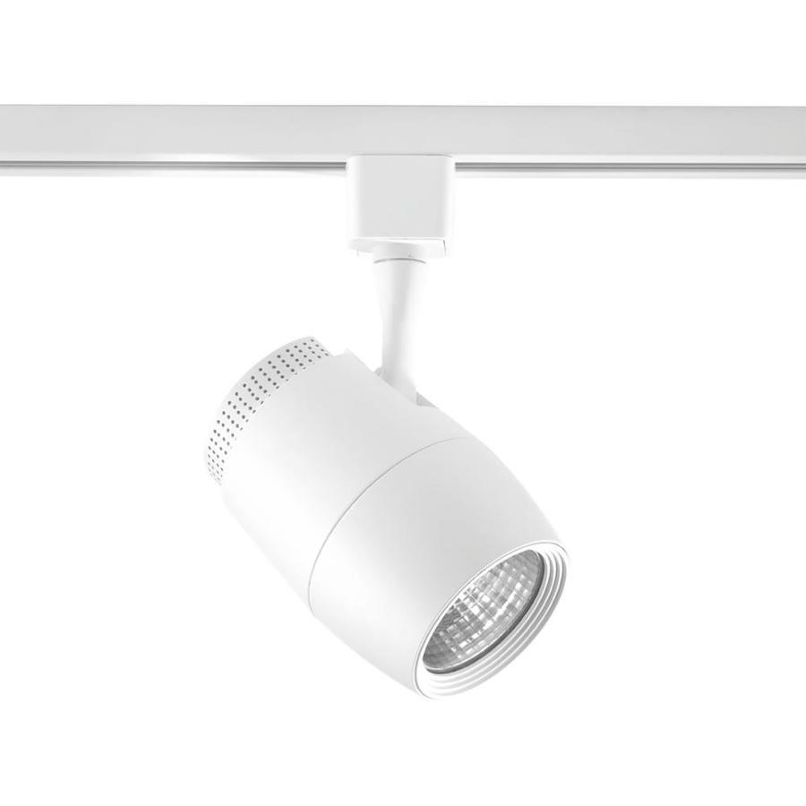 Led Track Light Head White: Progress Lighting LED Track 1-Light Dimmable Bright White