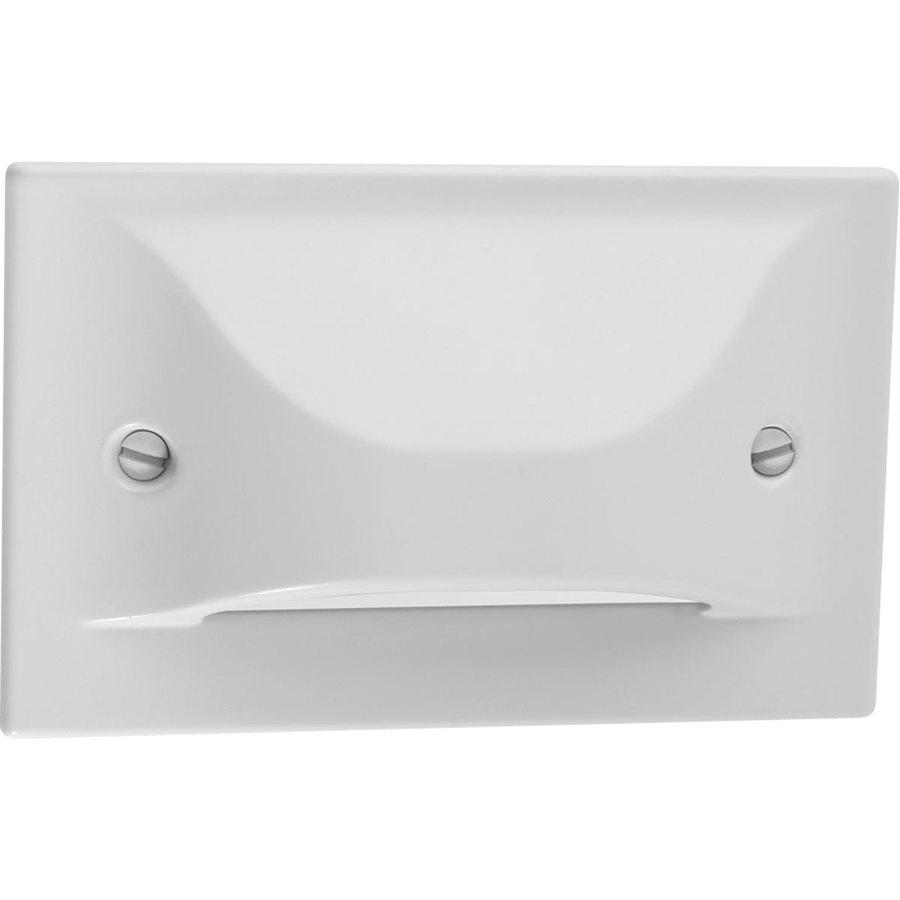 Progress Lighting White LED Recessed Light Kit (Fits Opening: 3-in)